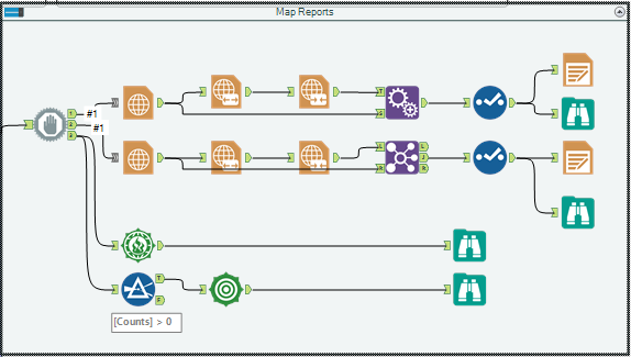 Workflow Analysis Data Reporting